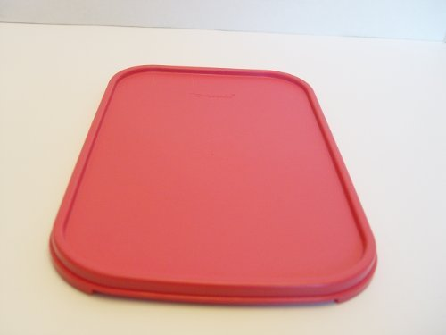 Tupperware Modular Mates RED 1610 Rectangle Replacement Seal Lid 10.75