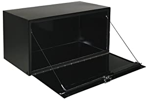 """Delta Pro 1-006002 Black 18"""" Tall x 18"""" Deep 36"""" Long Steel Underbed Truck Box"""