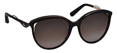 Dior 6NY Dark Havana Matte Black Metaleyes1 Butterfly Sunglasses Lens Category