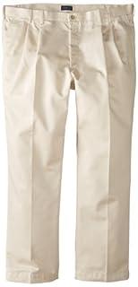 IZOD Men's Big-Tall Pleated Extended Twill Pant, Stone, 48x30