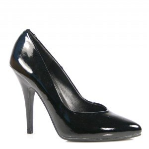 SEDUCE-420, 5 Classic Pump in 17 Colors in Leather, Patent or Velvet up to Size 16