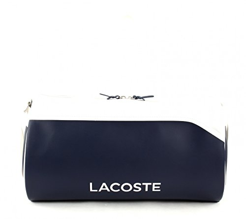 LACOSTE Ultimum Roll Bag Peacoat White