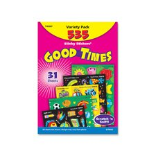 Trend Stinky Stickers T-83907 Good Times Variety Pack