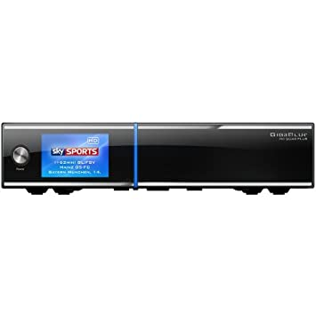 gigablue HD Quad Plus 3x DVB-S2HDTV Linux hbbtv Noir