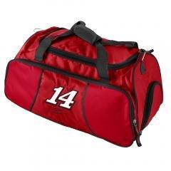 Tony Stewart Nascar Athletic Gym Duffel Bag Sports Fan Gear Luggage by Nascar