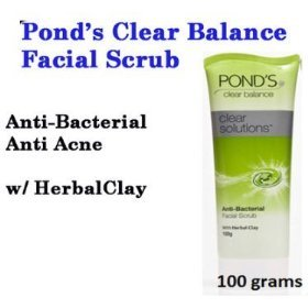 100g Pond&#39;s Clear Balance Solution Anti-bacterial Acne Expert Facial Scrub Wash
