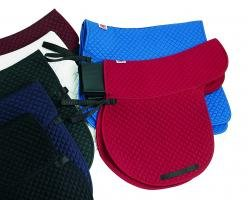 Satteldecke mit Gelpad - Tasche .s30 - DR - sw,