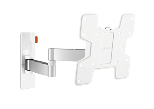 Vogel's WALL Series 180° TV Wall Mount, Swivel and Tilt, WALL 2145 19-37 inch TV, White/Silver (White Tv Bracket compare prices)