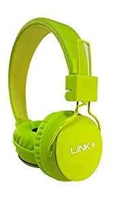 Link+ 5 in 1 MP3 Player,Micro SD/FM/Mic,With Bluetooth Reciever Wireless Headphone Parrot Green for Samsung Galaxy Note 3