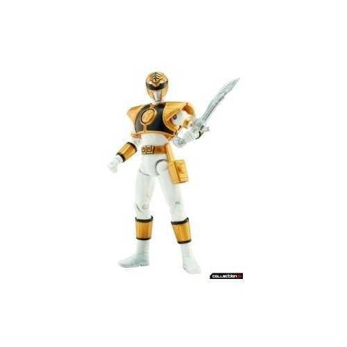 Power Rangers Super Legends Collectible Action Figure White Ranger