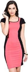 Addyvero Women's A-line Pink Dress