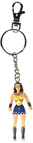 """NJ Croce Wonder Woman Key Chain, 3"""""""
