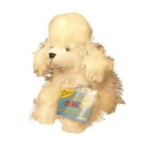 Webkinz Lil' White Poodle with Trading Cards