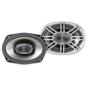 Speakers: Polk Audio DB691 6-by-9-Inch 3-Way Speakers (Pair, Silver