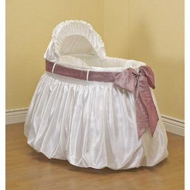 A Gift for You Bassinet Set- with PinkSash