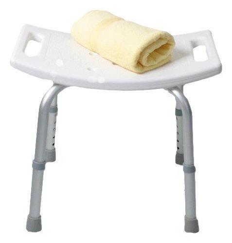 Outsunny - Sgabello sedile sedia per doccia bagno, antiscivolo, altezza regolabile!