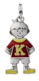 Initial Kid's Tag - Boy - K - 1