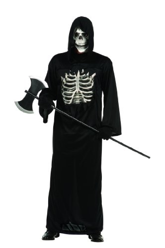 Adult Grim Reaper Robe with EVA Chest and Mask