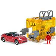 Tomica Mobile Base Search and Rescue Nissian Fairlady Z Roadster - 1