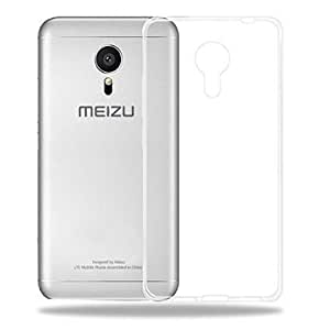 TREECASE Premium Quality Ultra Thin Transparent Exclusive Soft Silicone Back Case Cover for Meizu M3 Note