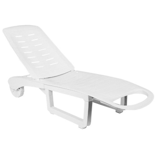 Hot Price White Resin Chaise Lounge Chairs Sundance Plastic Outdoor Patio Ch