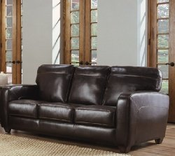 Soflex 2641D Fine Italian Leather Sofa