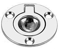 Perko 1232DP2CHR Flush Ring Pull, 2-Inch