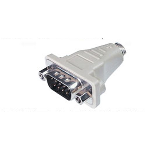 9 Pin Serial RS232 Male to PS2 Male Mouse Adapter
