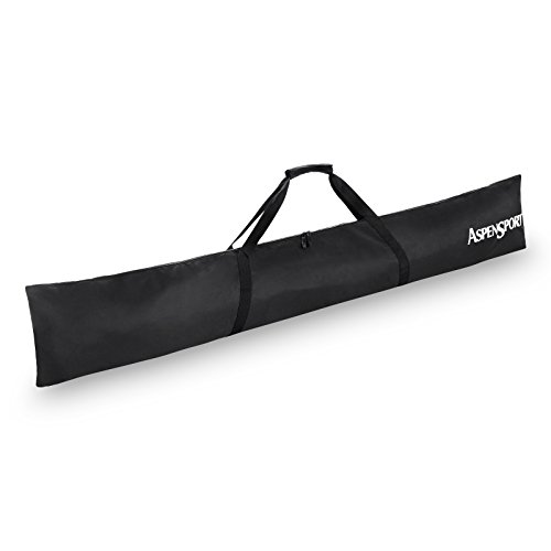 AspenSport Skitasche, schwarz, 190 x 10 x 32 cm, 60 Liter, AS152012