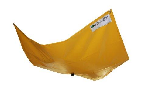 "Enpac 460306-Ye Pvc Drip Dam/Leak Diverter, 3' Length X 6' Width X 1/4"" Thick, Yellow"