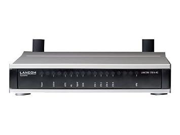 Lancom 1781A de 4G-Routeur-WWAN/DSL/RNIS-commutateur 4ports-GigE, PPP Routeur LANCOM 1781A/4G/routeur VPN avec multimode ADSL2+ Modem (annexe A/B/J/M) et int. LTE avec jusqu'à