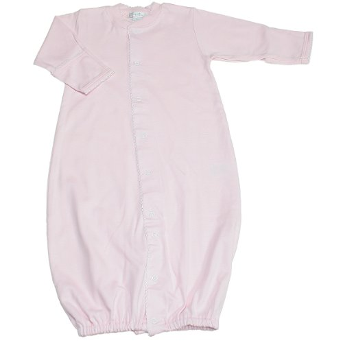 Kissy Kissy Baby Girls' Converter Gown (Baby) - Pink - Newborn front-1088641