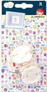 Protector de Enchufes seguridad Infantil 10 unid. - BebeHogar.com