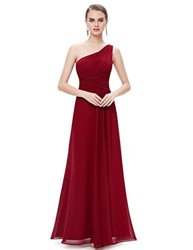 Ever Pretty Womens Empire Waist Slitted Long Bridesmaids Dress 12 UK Red