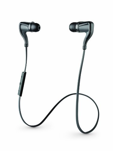 Plantronics BackBeat GO 2 Wireless Sweat-Proof Bluetooth Earbuds - Black (Full Retail Packaging) Back Beat Black Friday & Cyber Monday 2014