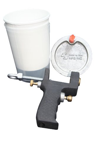 G100-6 Professional Grade Cup Gun, Sprays Gelcoat or Resin (Resin Pressure Pot compare prices)