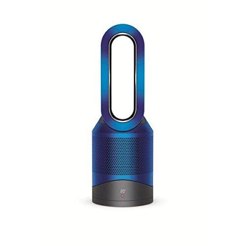 ダイソン 空気清浄機能付ファンヒーター(リモコン付 アイアン / ブルー)【扇風機】&【暖房器具】dyson Pure Hot+Cool HP01IB -