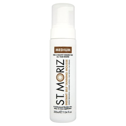 St Moriz Instant Self Tanning Mousse (200ml)