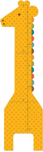 Petit Collage Growth Chart, Giant Giraffe front-825727