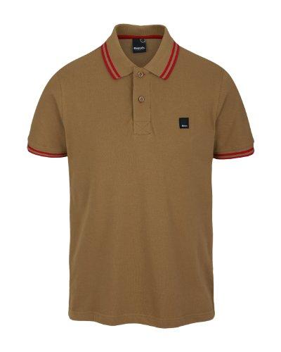Bench Kidbrother B Polo Men's T-Shirt Light Brown Small