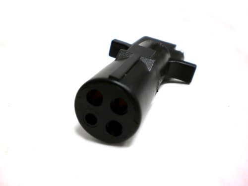 Cr Brophy R44F Trailer Connector Adapter 4 Round To 4 Flat