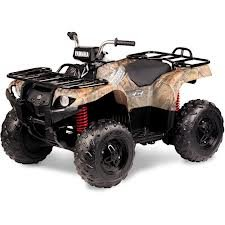 Yamaha Grizzly 24-Volt Battery-Powered Ride-On, Camo