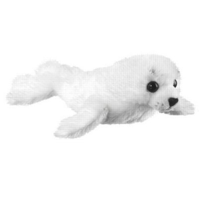 "Harp Seal Pup - 10"" Seal by Wildlife Artists"