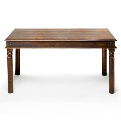 Jali Sheesham Thakat Dining Table (90x200x78) - Furniture