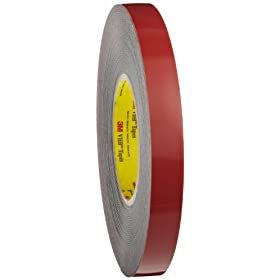 3M VHB Heavy Duty Mounting Tape 5952 Black, 3/4 in x 15 yd 45 mil