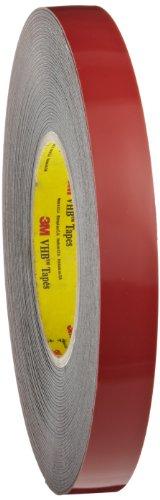 3M VHB Heavy Duty Mounting Tape 5952 Black, 3/4 in x 15 yd 45 mil