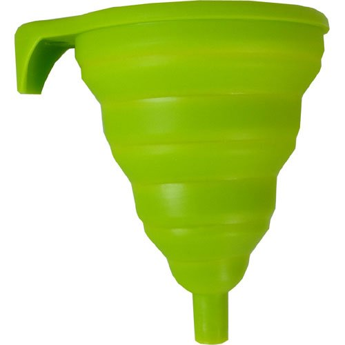 RSVP FUN-GR Collapsible Silicone Funnel