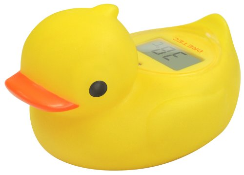 DRETEC デジタル湯温計 ガーくん イエロー O-238YE