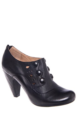 Sylvia Mid Heel Bootie