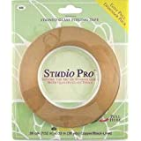Studio Pro 7/32-Inch Black Lined Copper Foil
